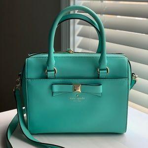 Kate Spade Aqua Bow Bag